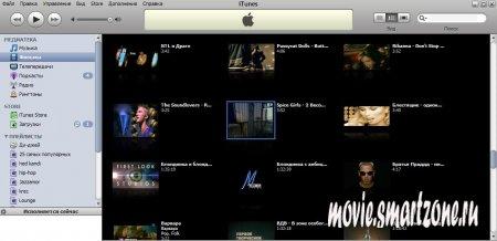 Как залить видео в Apple iPod