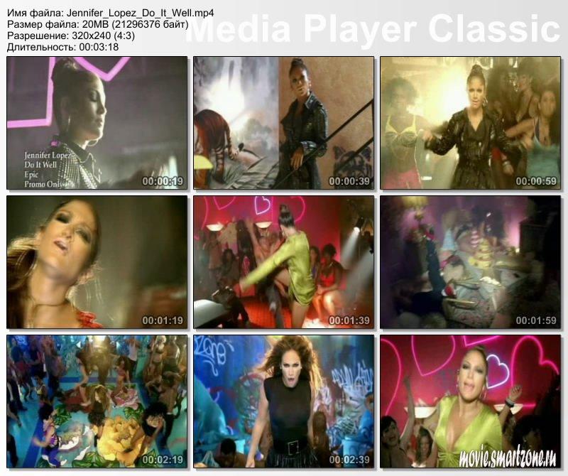 Jennifer Lopez Do It Well фильмы и видео клипы для Psp