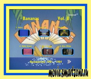 VA - Bananas - Best Videos .Vol. 8 (2011) TVRip