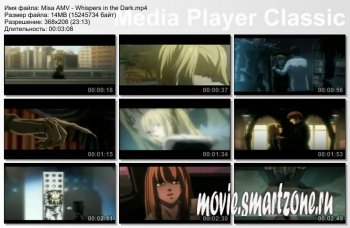 Misa AMV - Whispers in the Dark